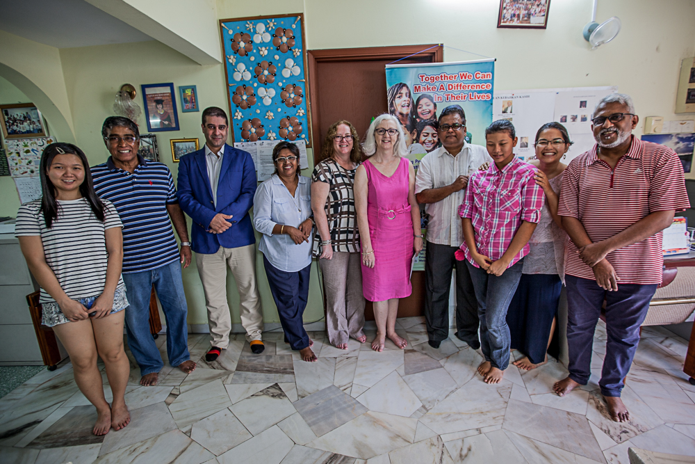 Rumah Kasih was presented with a cheque for RM95,000 by St. Patrick's Society President Martha Tee on 17th June at Rumah Kasih's home in Petaling Jaya. Also attending were Vice President Catherine Farag, Treasurer Wathil Alaaraji and  Committee member Natasha Manan.